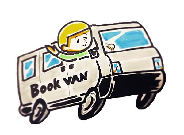 移動販売車『Book Van』